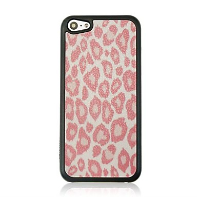 model venă piele imprimare leopard caz greu pentru iPhone 5c