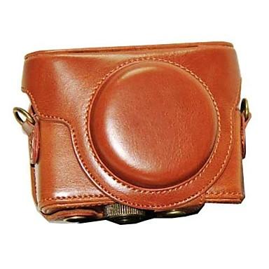 dengpin® camera de protecție din piele caz acoperire sac, cu curea de umăr pentru Sony DSC-rx100m iii RX100 ii RX100