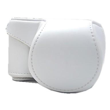 pajiatu® αποσπώμενο pu δέρμα κάμερα προστατευτική θήκη με ιμάντα ώμου για SONY ALPHA A5000 ilce-5000