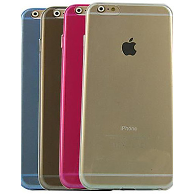 Ultrathin Solid Color TPU Soft Case for iPhone 6 Plus (Assorted Color)