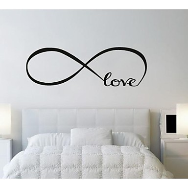Abstrakt Romantik Worte & Zitate Fantasie Wand-Sticker Flugzeug-Wand Sticker Dekorative Wand Sticker, Vinyl Haus Dekoration Wandtattoo