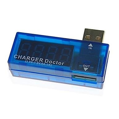 Συνεχές ρεύμα 5V USB τάσης γιατρός φορτιστή μετρητή ρεύματος μπαταρία του κινητού tester δύναμη