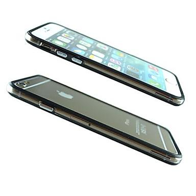 Кейс для Назначение Apple iPhone 6 iPhone 6 Plus Прозрачный С узором Кейс на заднюю панель Сплошной цвет Мягкий ТПУ для iPhone 6s Plus