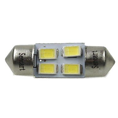 31mm Araba Ampul 2W SMD 5730 120-160lm 4 LED İç Işıklar For Uniwersalny