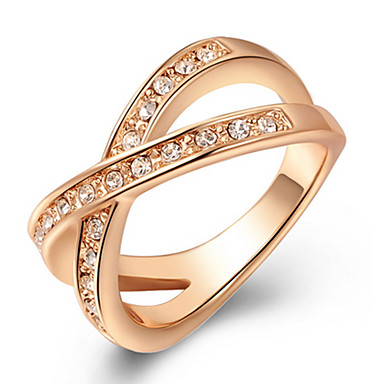 Pentru femei Inel de declarație Zirconiu Aliaj Petrecere Zilnic Casual Costum de bijuterii