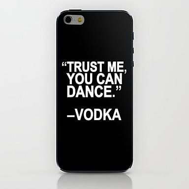 Hülle Für Apple iPhone 6 iPhone 6 Plus Muster Rückseite Wort / Satz Hart PC für iPhone 6s Plus iPhone 6s iPhone 6 Plus iPhone 6