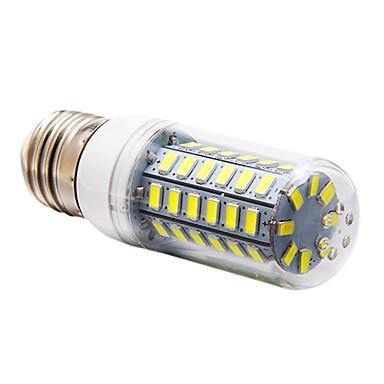5W 450 lm E14 G9 E26/E27 LED-maïslampen 56 leds SMD 5730 Warm wit Koel wit AC 220-240V