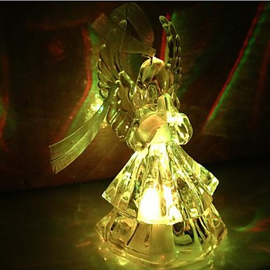 coway ακρυλικό προσευχή άγγελοι πολύχρωμο οδήγησε νυχτερινό φως υψηλής ποιότητας