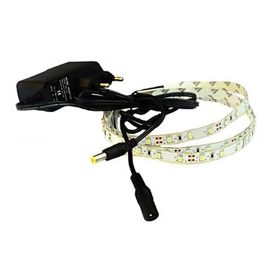 1m Esnek LED Şerit Işıklar 60 LED'ler Sıcak Beyaz