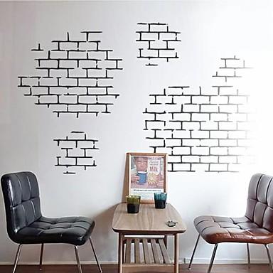 Natürmort Şekiller Mimari Duvar Etiketler Uçak Duvar Çıkartmaları Dekoratif Duvar Çıkartmaları, Vinil Ev dekorasyonu Duvar Çıkartması