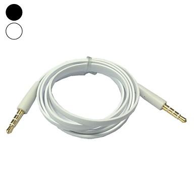 1m 3.3ft plat 3.5mm tăiței jack audio de sex masculin la cablu de conectare de sex masculin (Color asortate)