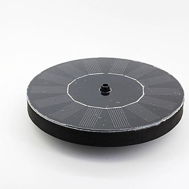 billige Tilbehør til smådyr-runde flydende type soldrevet vandpumpe