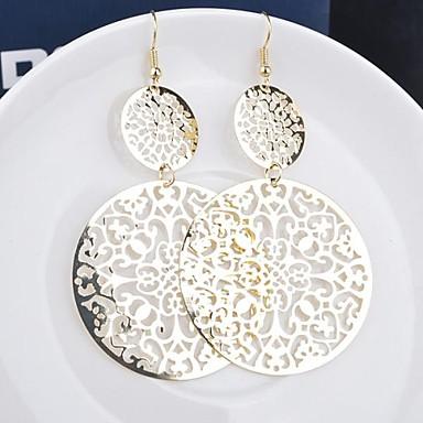 Pentru femei Cercei Picătură Personalizat Modă Aliaj Bijuterii Negru Argintiu Auriu Nuntă Petrecere Zilnic Casual Costum de bijuterii