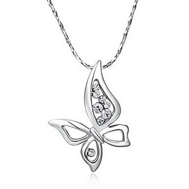 roxi fashion echte Oostenrijkse kristallen zilveren vlinder partij pandant kettingen (1 pc)
