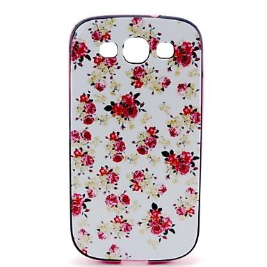 Για Samsung Galaxy Θήκη Με σχέδια tok Πίσω Κάλυμμα tok Λουλούδι PC Samsung S3