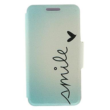 Maska Pentru Nokia Lumia 620 Nokia Carcasă Nokia Titluar Card Întoarce Carcasă Telefon Cuvânt / expresie Greu PU piele pentru