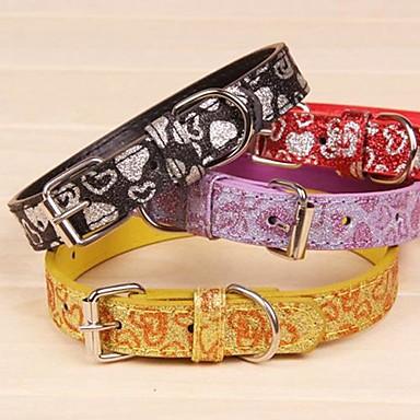 Katze / Hund Halsbänder Regolabile / Einziehbar / Cosplay PU-Leder