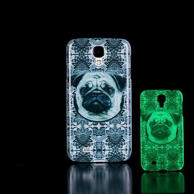 Para Samsung Galaxy Capinhas Brilha no Escuro / Estampada Capinha Capa Traseira Capinha Cachorro PC Samsung S4 Mini