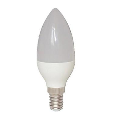 3W 260-350 lm E14 LED-kaarslampen C35 15 leds SMD 2835 Warm wit AC 85-265V