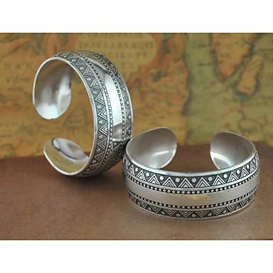 Dames Cuff armbanden - Zilver Armbanden Voor Kerstcadeaus Bruiloft Feest