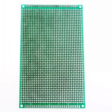 9 x 15 cm cu fibre de sticlă de prototipuri PCB breadboard universal față-verso (2 buc)