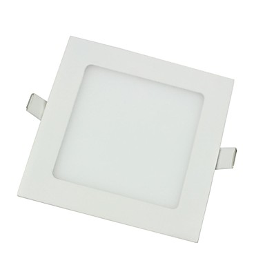 9W 45 * smd2835 650lm 2700-3200k alb cald a condus lumina panou pătrat formă-alb (ac85-265v)