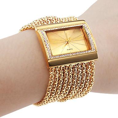 Personalisierte Geschenke Beobachten, Analog Quartz Beobachten With Legierung Gehäuse-Material Legierung Band Armband-Uhr