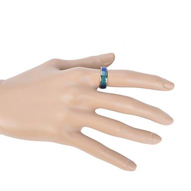Dames Bandringen Liefde Modieus Kleurgradatie Kostuum juwelen Emaille Cirkelvorm Sieraden Voor Bruiloft Feest Dagelijks Causaal Sport