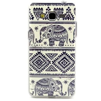 hoesje Voor Samsung Galaxy Samsung Galaxy hoesje Patroon Achterkant Olifant TPU voor Grand Neo