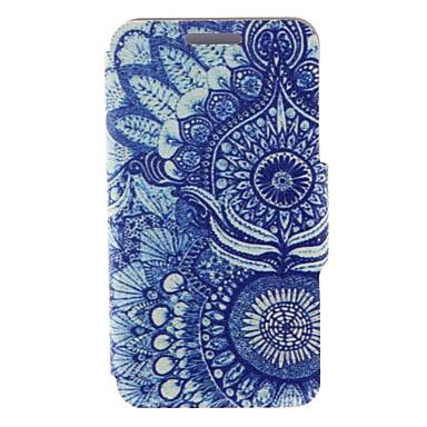 Για Samsung Galaxy Θήκη Ανοιγόμενη / Με σχέδια tok Πλήρης κάλυψη tok Λουλούδι Συνθετικό δέρμα Samsung S5