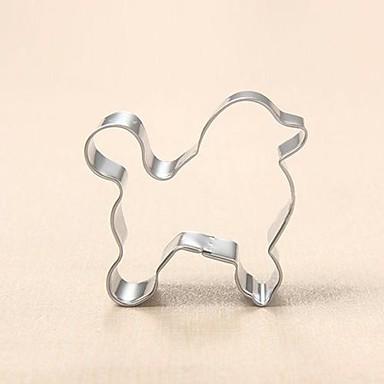 poedel hond cookie cutter metalen dier biscuit brood schimmel roestvrij staal diy bakken gereedschappen
