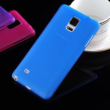 ultrathin caz caz pentru Samsung galaxie nota 4 galaxie serie de cazuri / acoperă