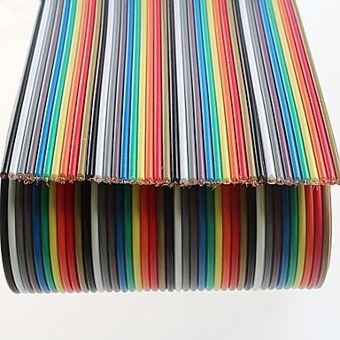 16-adriges Kabel 40p farbigen Generalprobe (0.5m)