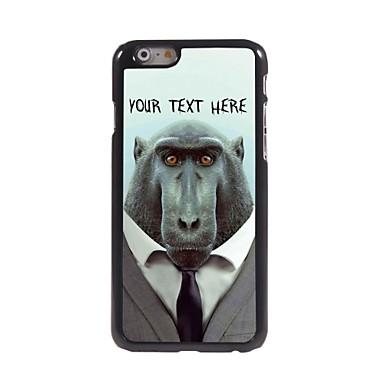 caso de telefone personalizado - babuíno caso design de metal para iphone 6