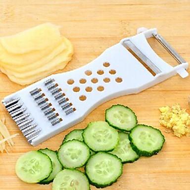 1 stuks Cutter & Slicer For voor Fruit / voor Vegetable Kunststof Milieuvriendelijk / Creative Kitchen Gadget / Multifunctioneel