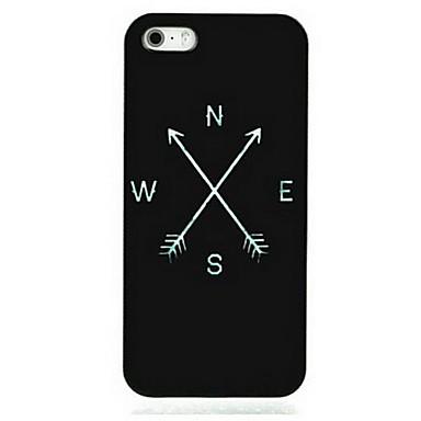 tok Για Apple iPhone 8 iPhone 8 Plus Θήκη iPhone 5 iPhone 6 iPhone 6 Plus iPhone 7 Plus iPhone 7 Με σχέδια Πίσω Κάλυμμα Μαύρο & Άσπρο