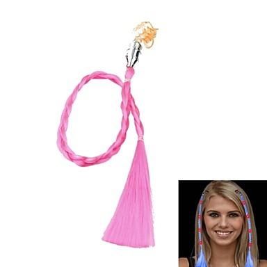 schimbare de culoare a condus luminos panglica de păr pentru reuniuni de partid popi (roz)