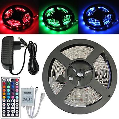Fâșii RGB Bare De Becuri LED Rigide Fâșii De Becuri LEd Flexibile LED-uri RGB Telecomandă Ce poate fi Tăiat Intensitate Luminoasă