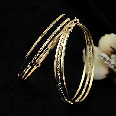 Damen Tropfen-Ohrringe - Silber / Golden Für Hochzeit Party Alltag