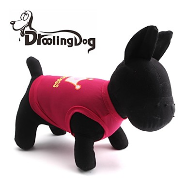 Kedi / Köpek Tişört Köpek Giyimi Tiaralar ve Taçlar Gül / Pembe Terylene Kostüm Evcil hayvanlar için