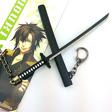 Silah Kılıç Esinlenen Cosplay Cosplay Anime Cosplay Aksesuarları Kılıç alaşım Erkek Kadın's