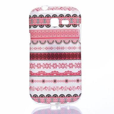 Para Samsung Galaxy Capinhas Case Tampa Estampada Capa Traseira Capinha Linhas / Ondas TPU para Samsung Trend Lite