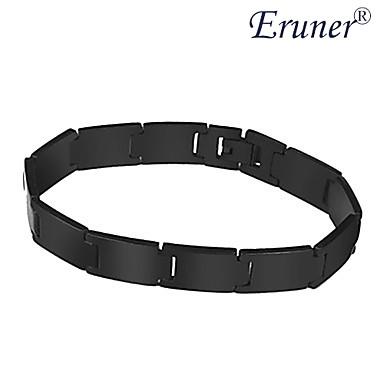 Eruner®Men's Stainless Steel Bracelet (Black)