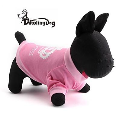 honden / katten T-shirt Roze Lente/Herfst Tiara's & Kronen