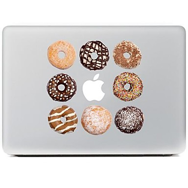 de koekjes ontwerp decoratieve huid sticker voor macbook air / pro / pro met retina-display