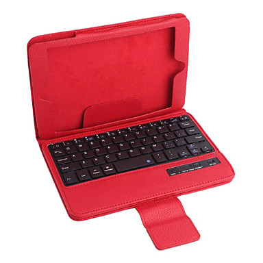 ipad Mini 3 ipad Mini 2 ipad mini pu deri çanta w / bluetooth klavye