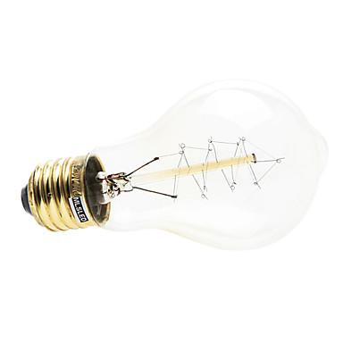 1pç 4W 200-260 lm E26/E27 Lâmpada Redonda LED 1 leds Branco Quente AC 220-240V