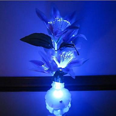 LED Night Light Waterbestendig Batterij Acryl 1 Lamp Exclusief batterijen 11.0*11.0*10.0cm
