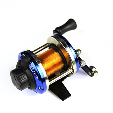 Molinetes de Pesca Molinete de Isca 3.6:1 Relação de Engrenagem Rolamentos Destro Pesca de Água Doce
