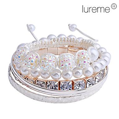 lureme®claw catena set braccialetto di tessitura